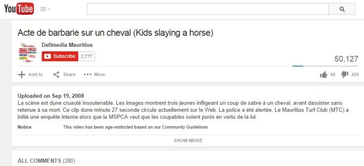 horsekilling