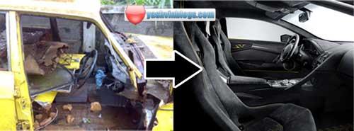 yellow-car-interior