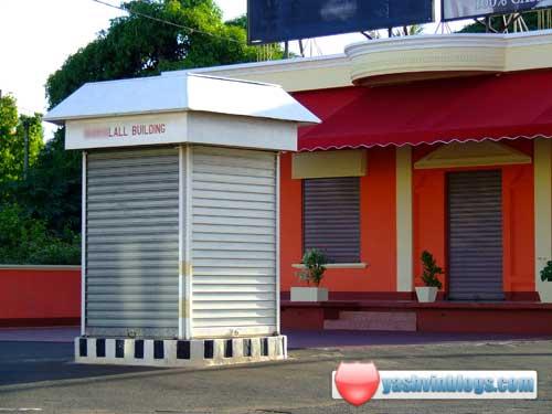 Smallest building in Mauritius