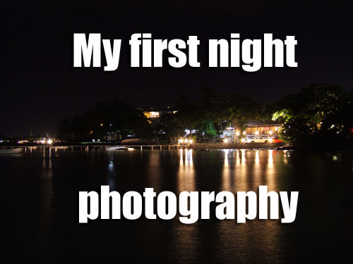 First Night Photography
