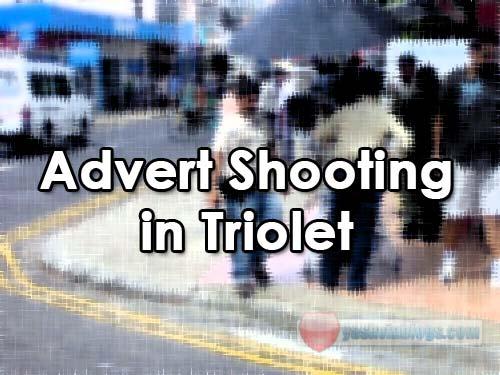 Advert Shooting In Triolet