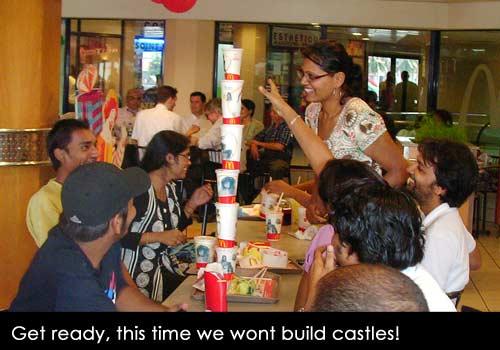 Building castles...