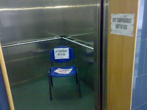 Lift-fail