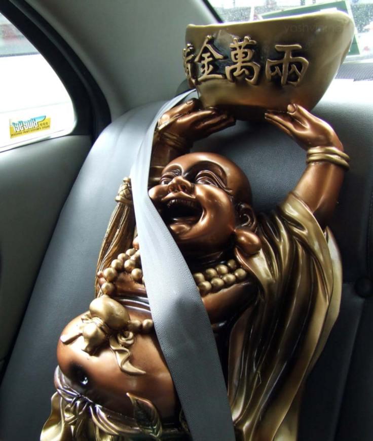 The seated buddha
