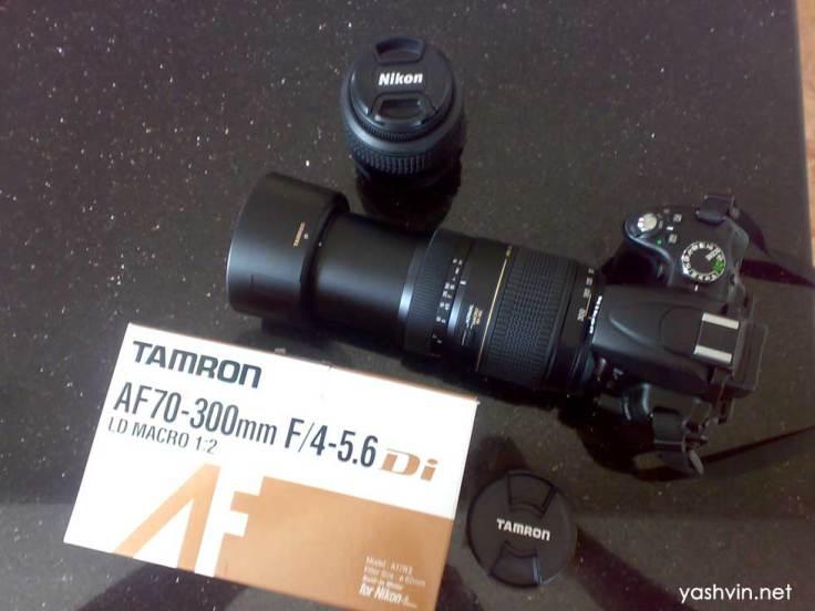 Tamron 70-300mm for Nikon (built in Motor)