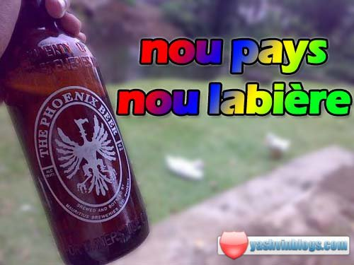 Nou pays nou la bière!