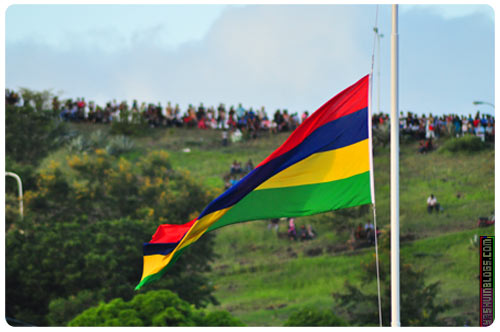 The Mauritian Flag
