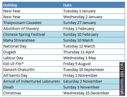 Public Holidays 2013 For Mauritius Yashvinblogs Away from the beach, visitors can explore sugar and tea plantations and abundant national parks, colonial. public holidays 2013 for mauritius