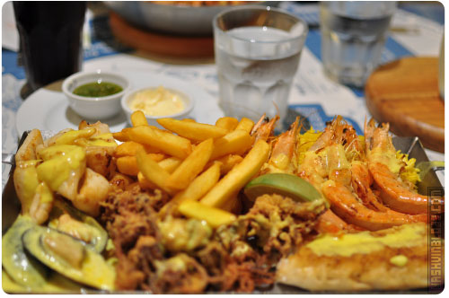 Ocean Basket Platter for 1