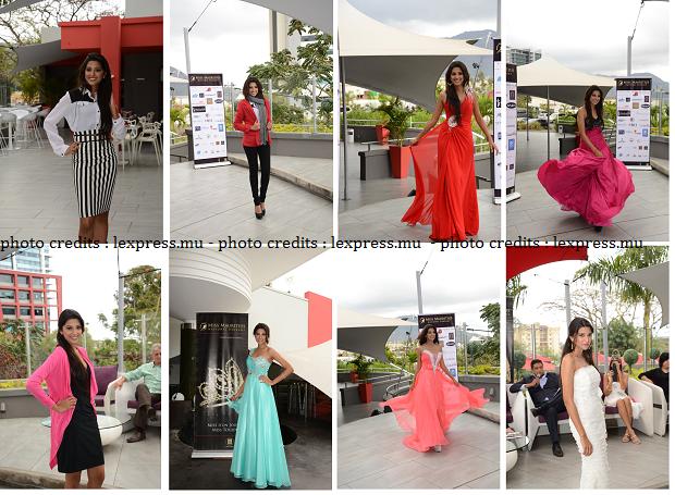 Miss Mauritius Universe dresses 2013