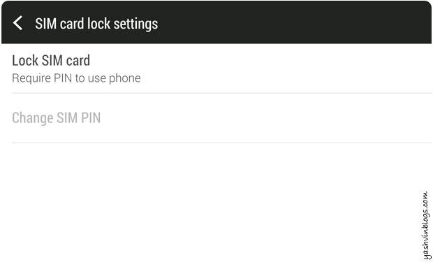 sim lock