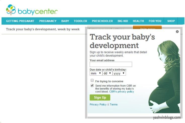 pregnancy babycenter