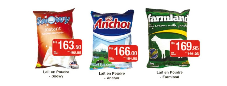Rs150 milk products