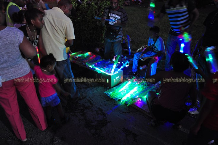 Hawkers selling all sorts of lights