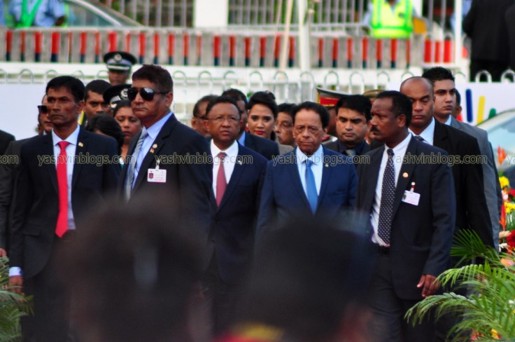 Arrival of the Chief Guest
