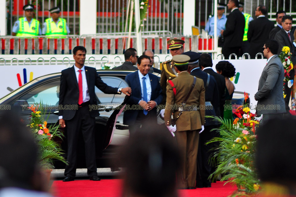 Arrival of the Prime Minister