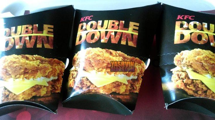 KFC Double Down - box