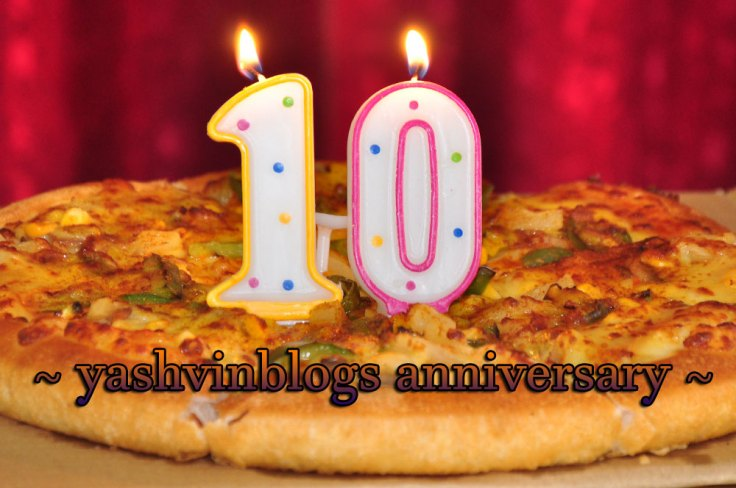 10th blogging anniversary