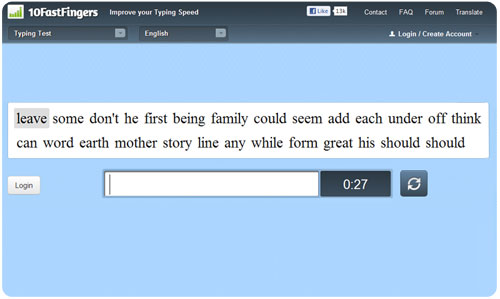 How fast can you type? – Yashvinblogs